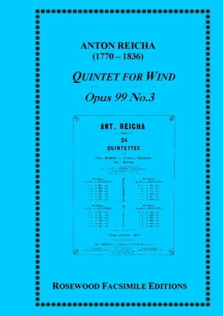 WIND QUINTET Op.99 No.3