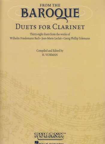 FROM THE BAROQUE 38 duets