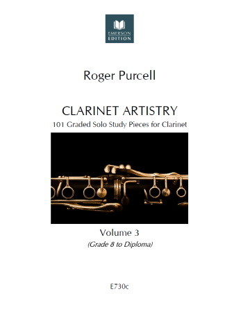 CLARINET ARTISTRY Volume 3