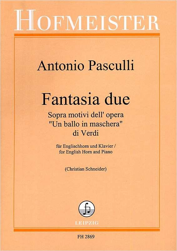FANTASIA DUE on 'Un Ballo in Maschera' by Verdi