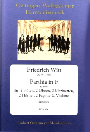 PARTHIA in F major score & parts