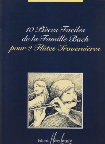 10 PIECES FACILES de la Famille Bach