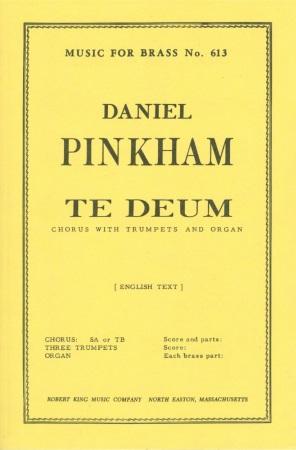 TE DEUM (score & parts)