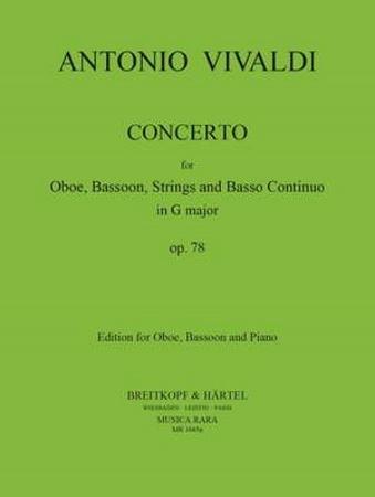 CONCERTO in G major RV545