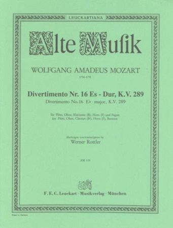 DIVERTIMENTO No.16