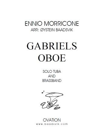 GABRIEL'S OBOE (score & parts)
