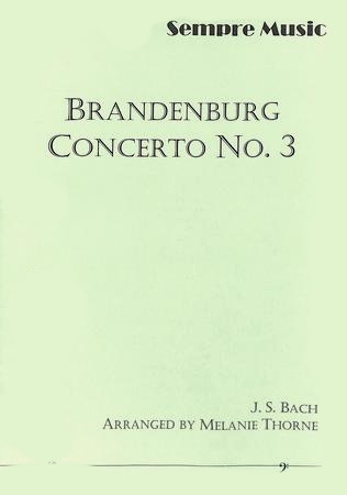 BRANDENBURG CONCERTO No.3 Allegro (3rd movement)