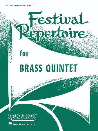 FESTIVAL REPERTOIRE 2nd cornet/trumpet