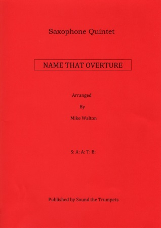 NAME THAT OVERTURE (score & parts)