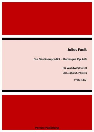 DIE GARDINENPREDIGT Burlesque (score & parts)