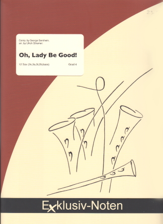 OH, LADY BE GOOD! (score & parts)