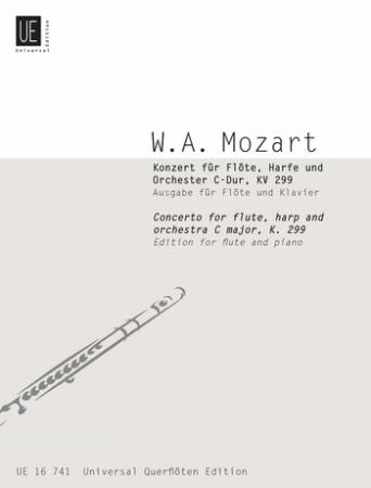CONCERTO for Flute & Harp in C major KV299
