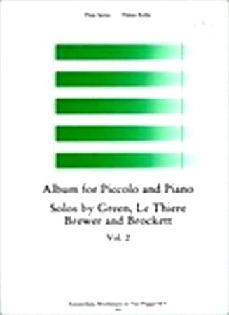 ALBUM FOR PICCOLO AND PIANO Volume 2