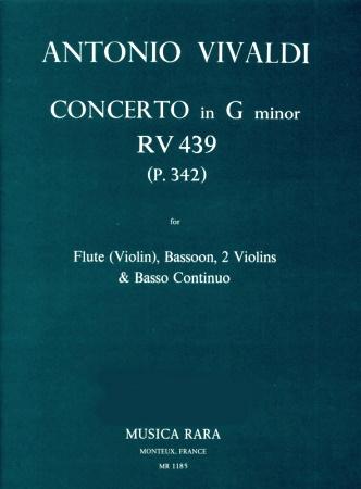 CONCERTO in g minor RV439 P342
