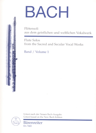 FLUTE SOLOS FROM SACRED & SECULAR WORKS Vol.1