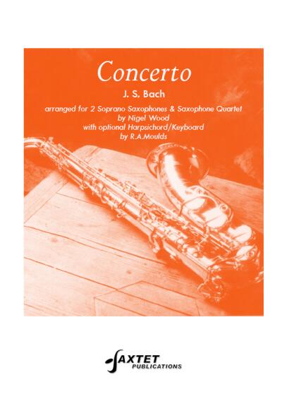 CONCERTO for 2 Soprano Saxophones