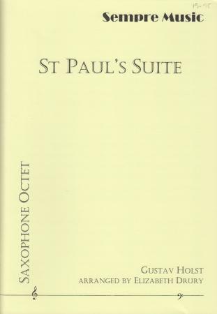 ST PAUL'S SUITE (score & parts)
