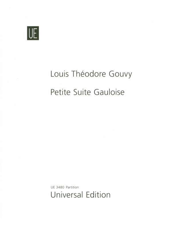 PETITE SUITE GAULOISE Op.90 (set of parts)