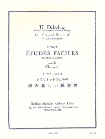 20 ETUDES FACILES