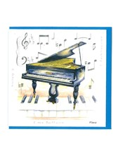 NOTELETS Piano Design (Pack of 5)