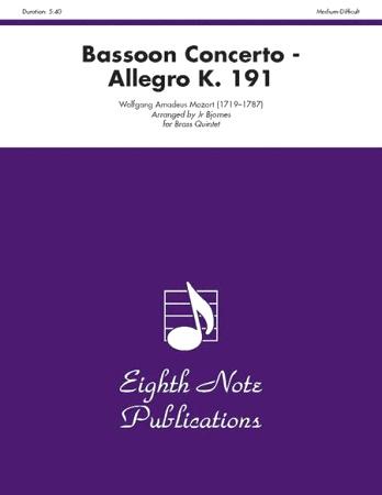 BASSOON CONCERTO Allegro K 191