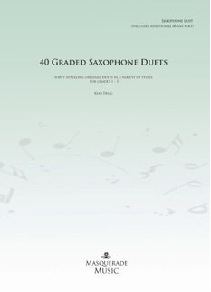 40 GRADED SAXOPHONE DUETS