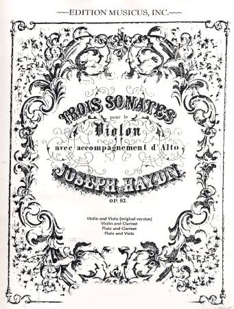 THREE SONATAS Op.93