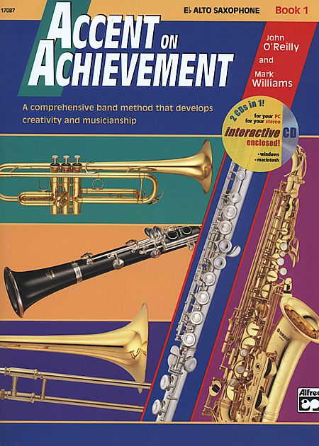 ACCENT ON ACHIEVEMENT Book 1 alto