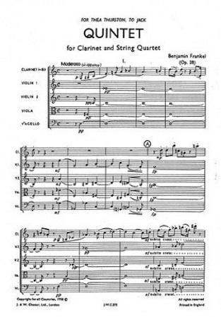QUINTET Op.28 (score)