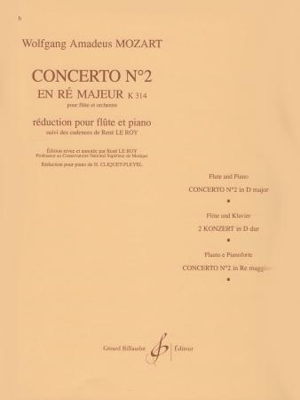 CONCERTO No.2 in D major, K314