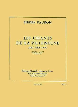 LES CHANTS DE LA VILLENEUVE