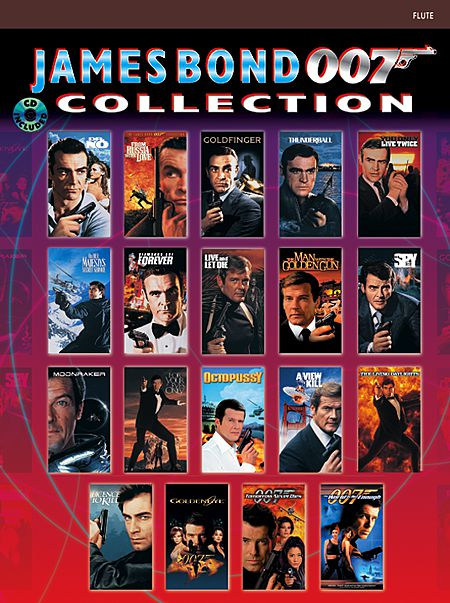 JAMES BOND 007 COLLECTION + CD