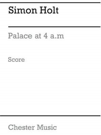 PALACE AT 4AM score