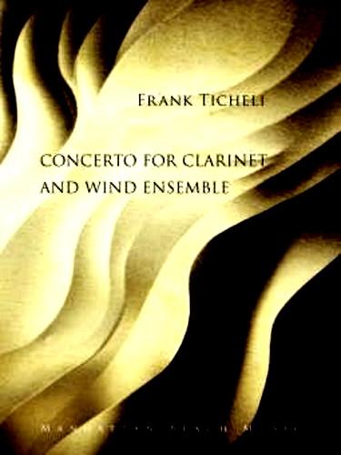 CONCERTO FOR CLARINET (score & parts)