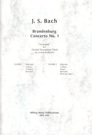 BRANDENBURG CONCERTO No.1