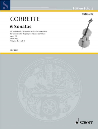 SIX SONATAS Op.20 Volume 1