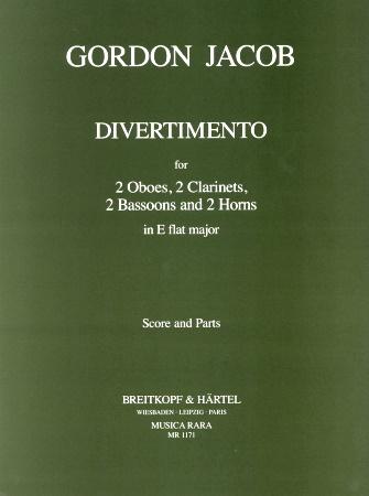 DIVERTIMENTO in Eb major (score & parts)