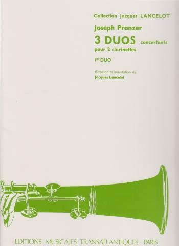TROIS DUOS CONCERTANTS No.1