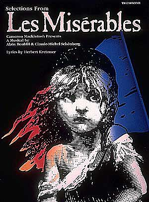 LES MISERABLES a selection with chord symbols