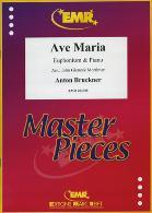 AVE MARIA treble/bass clef