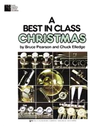 A BEST IN CLASS CHRISTMAS Bb clarinet book