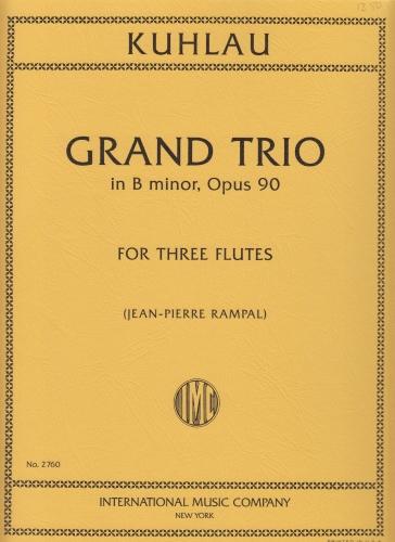 GRAND TRIO in B minor Op.90