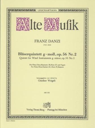 QUINTET in G minor Op.56 No.2 (set of parts)