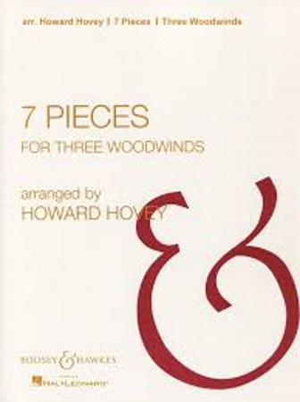 7 PIECES FOR THREE WOODWINDS (playing score)