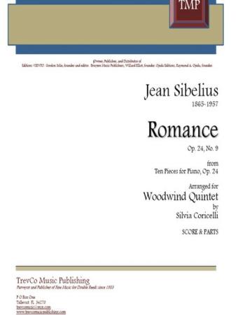 ROMANCE Op.24 No.9 (score & parts)