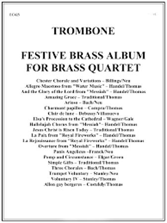 FESTIVE BRASS ALBUM Trombone (alt. to Horn)
