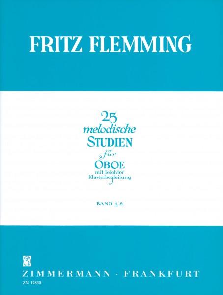 25 MELODIC STUDIES Volume 1