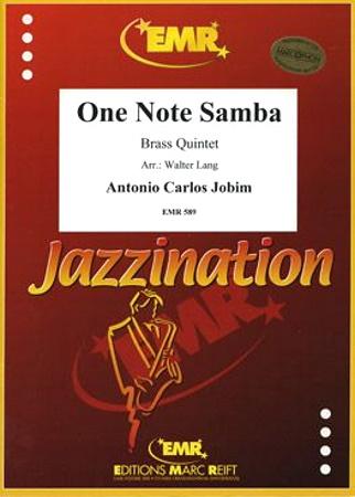 ONE NOTE SAMBA (score & parts)