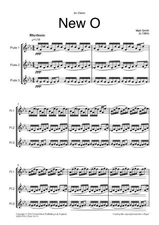 NEW O (score & parts)