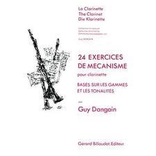 24 EXERCICES DE MECANISME